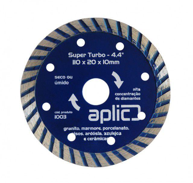 Disco Diamantado Turbo 110 X 20 X 10mm 5 Peças