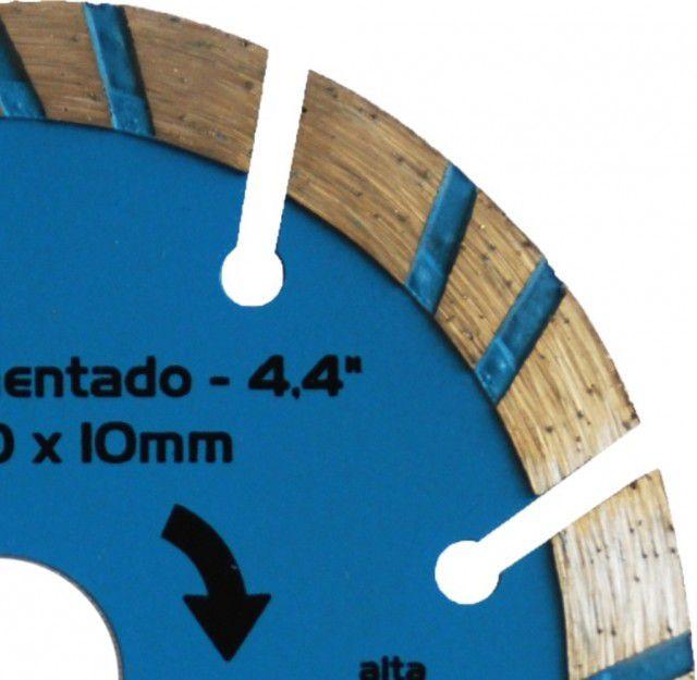 Disco Diamantado Turbo Segmentado 110 x 20 x 10mm 5 Peças