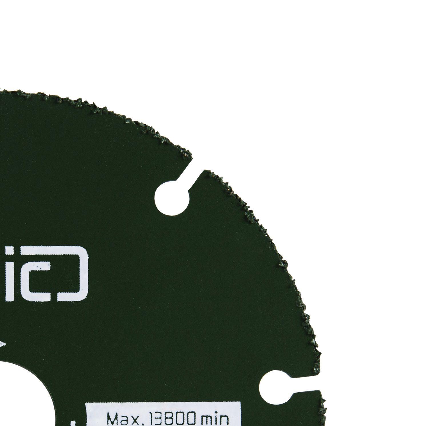 kit Disco De Serra  Para Madeira 110 x 20mm e jogo de broca madeira