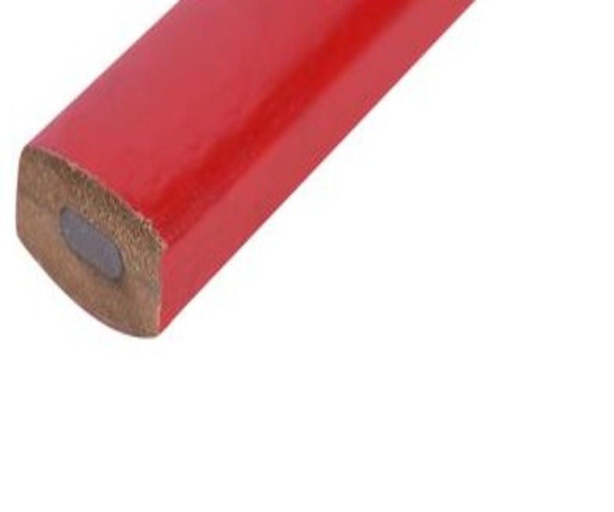 Lapis De Carpinteiro 180mm Caixa com 12 Peças