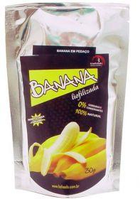 Banana em Pedaços Liofoods