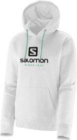 Blusa Moletom Com Capuz Salomon Logo Hoodie Feminino