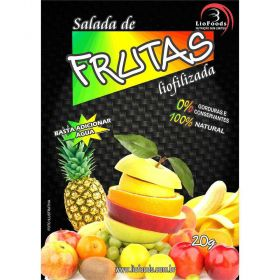 Salada de Frutas em Pedaços Liofoods