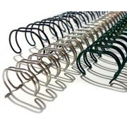 Espiral Garra Duplo Anel Wire-o 3x1 A4 9/16 110 Fls Para Encadernação