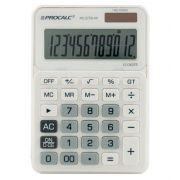Calculadora de Mesa Procalc PC272W 12 Digitos Bateria Solar