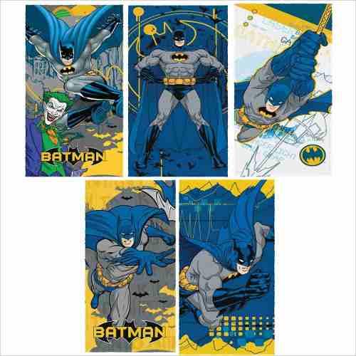 Toalha de Banho Felpuda Infantil Batman Liga da Justiça Lepper