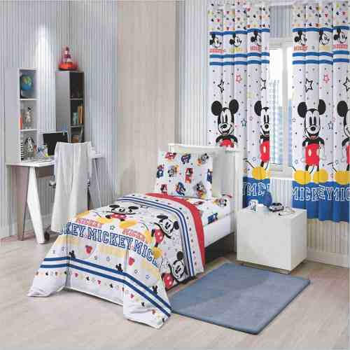 Edredom Infantil Mickey Play Disney Santista