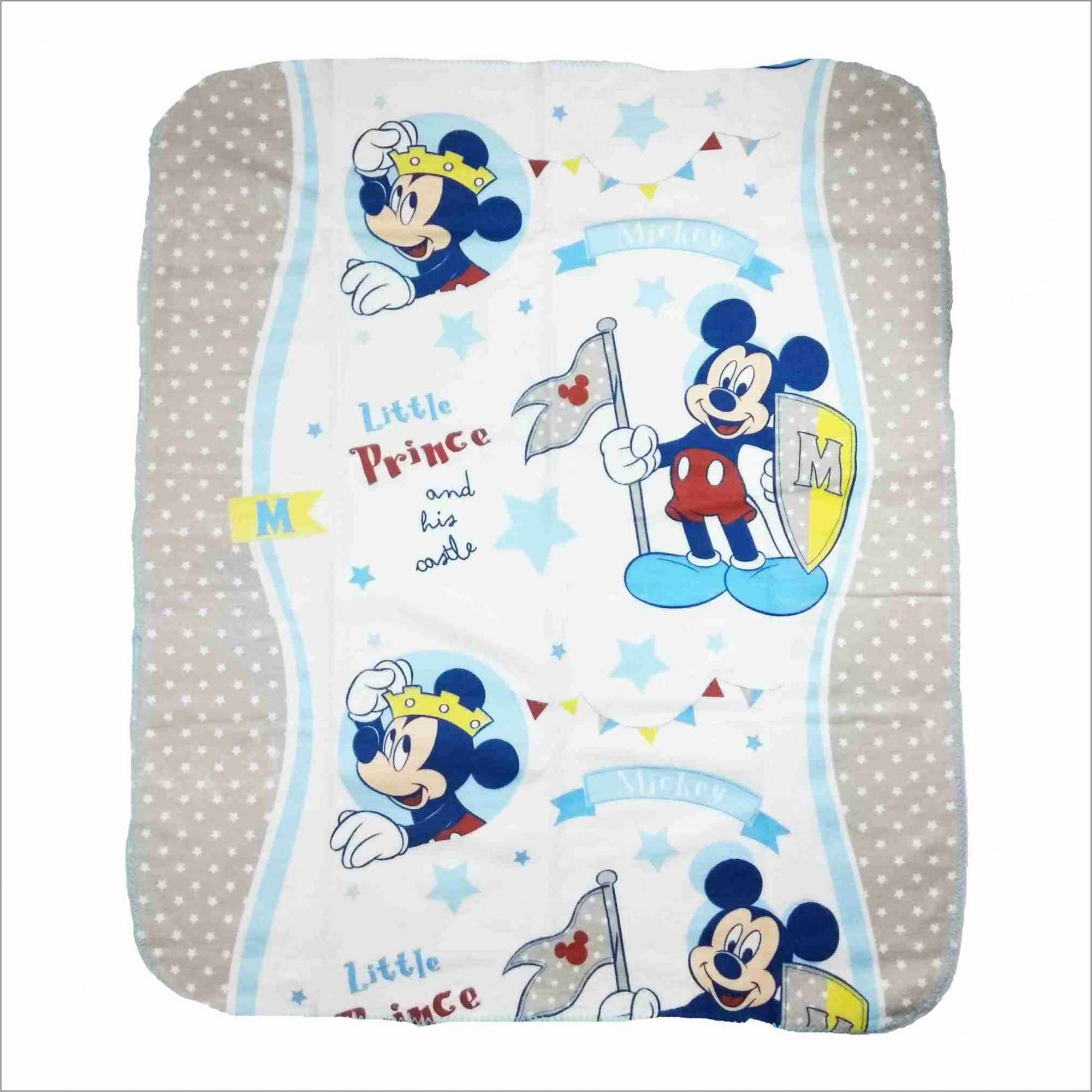 Cobertor Mickey Baby 100% Algodão Disney