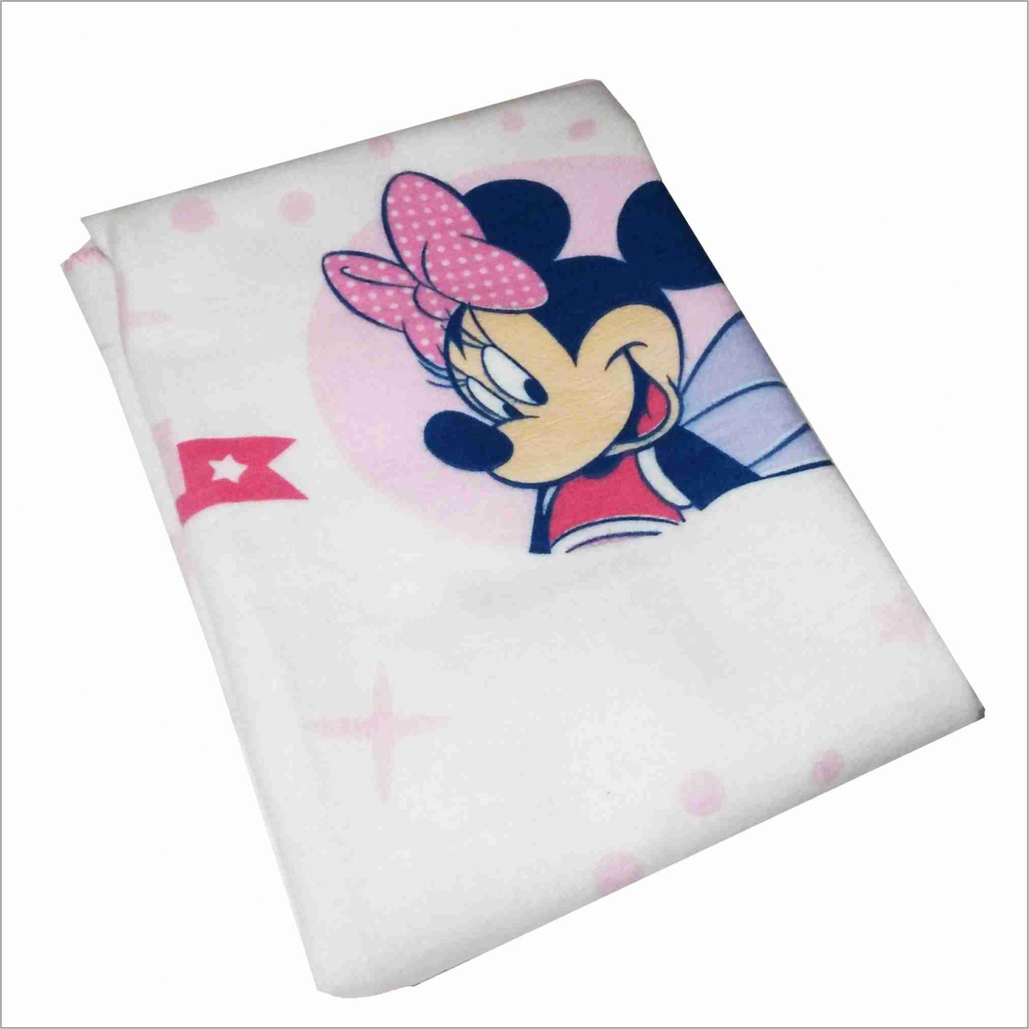 Cobertor Minnie Baby 100% Algodão Disney