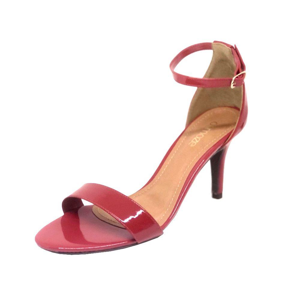 515d05d2e Sandália Osmoze Salto fino Vermelho - Zaxus - Moda Online