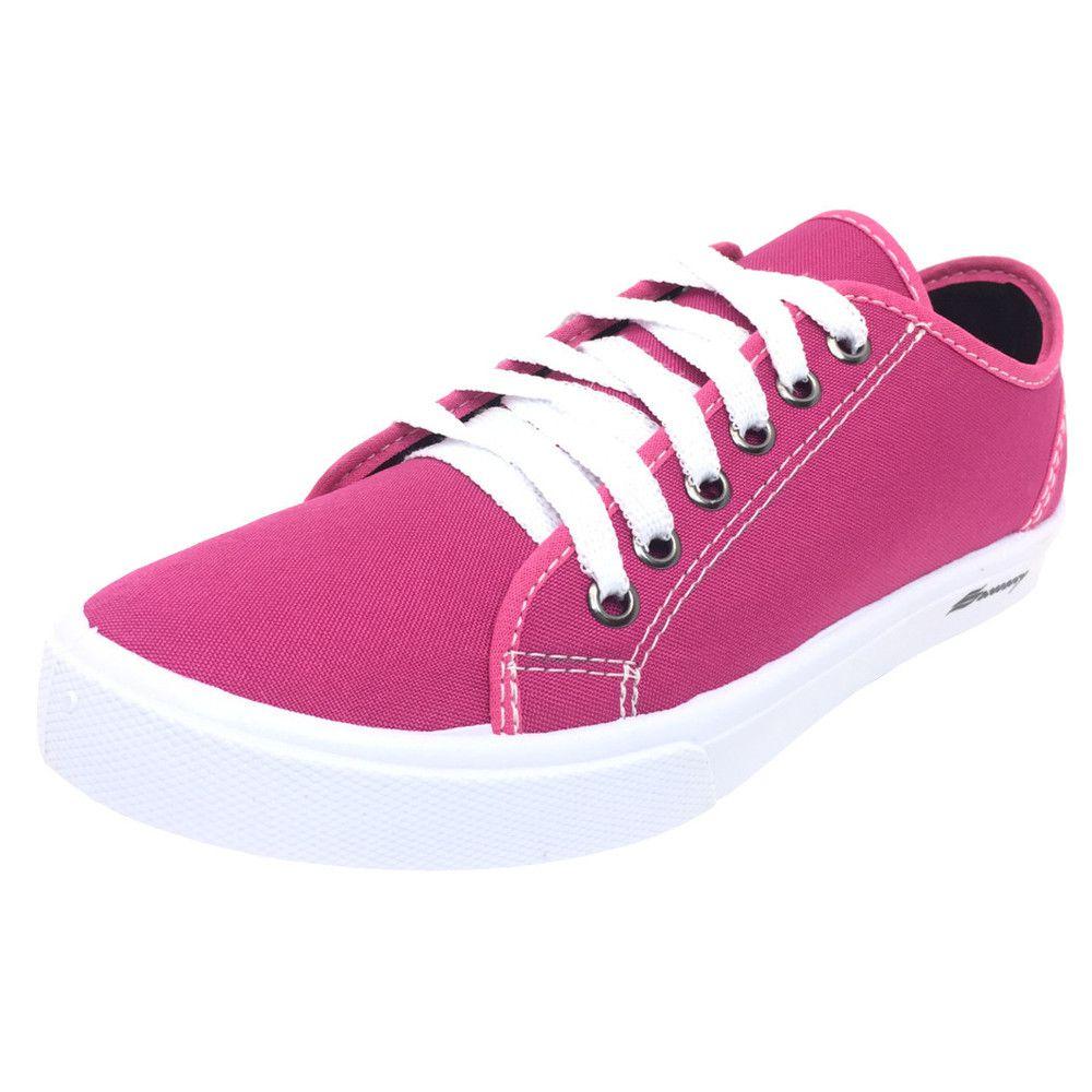 Tênis Sawary Liso Pink - Zaxus - Moda Online 8ed63cc22d8b3