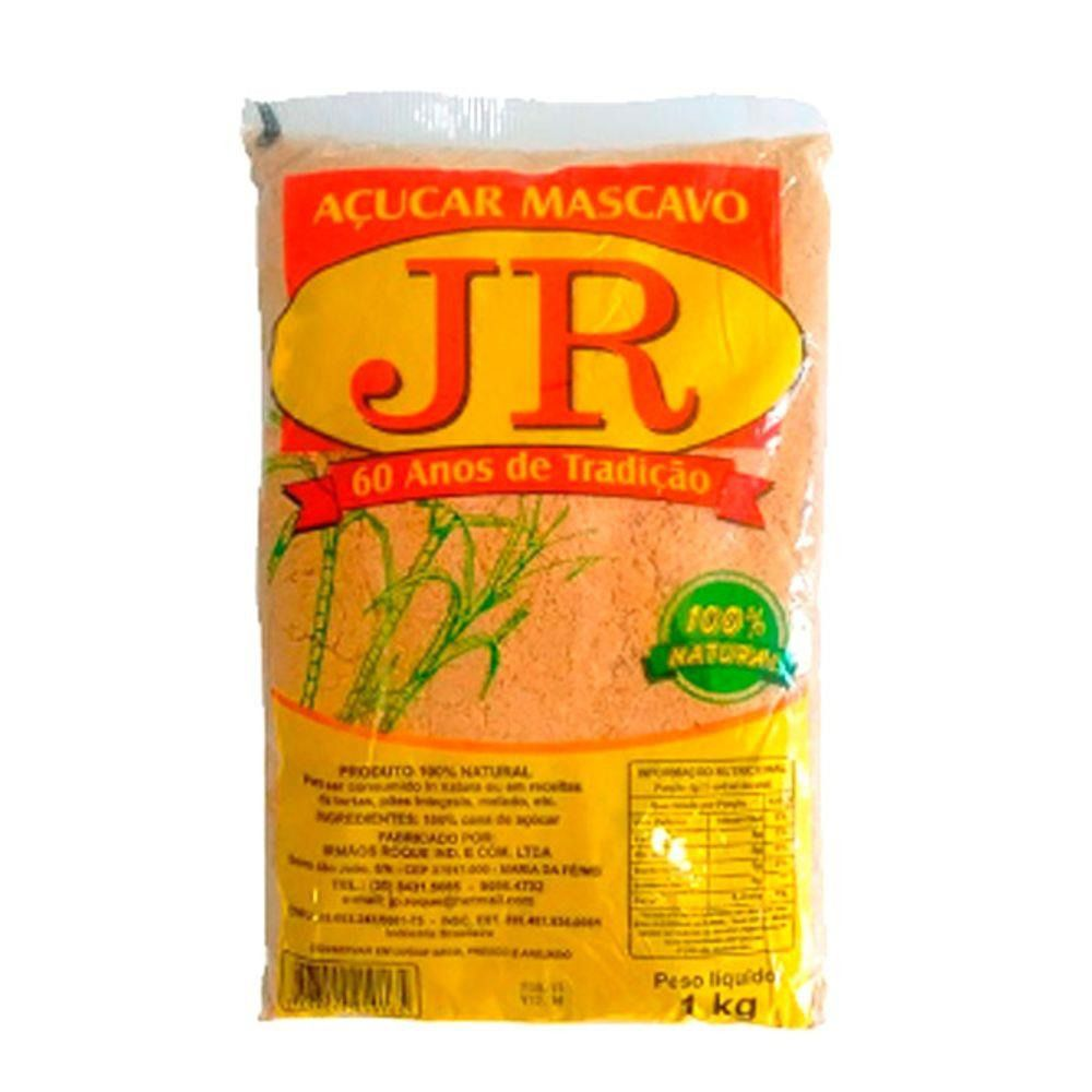 ACUCAR MASCAVO JR 1KG