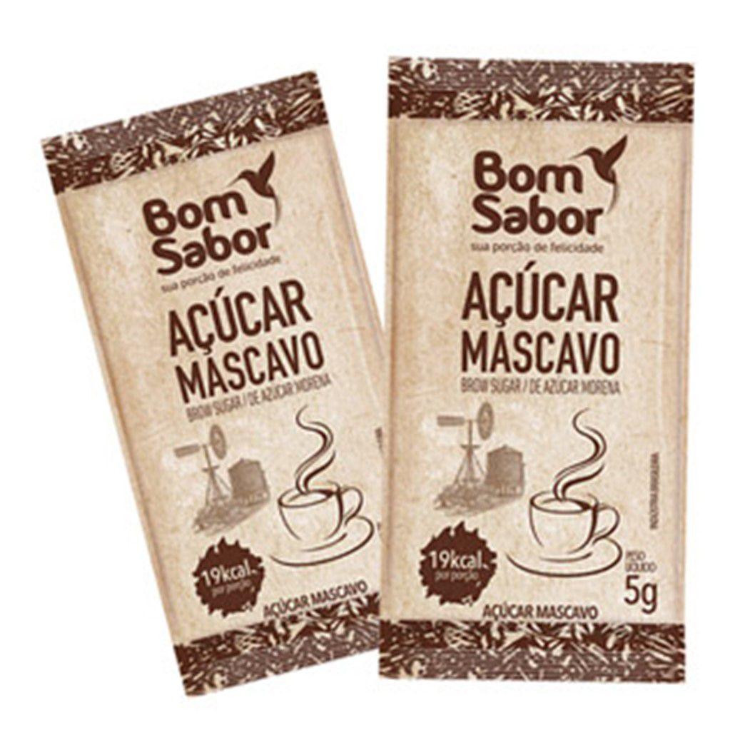ACUCAR SACHE MASCAVO BOM SABOR  200UN