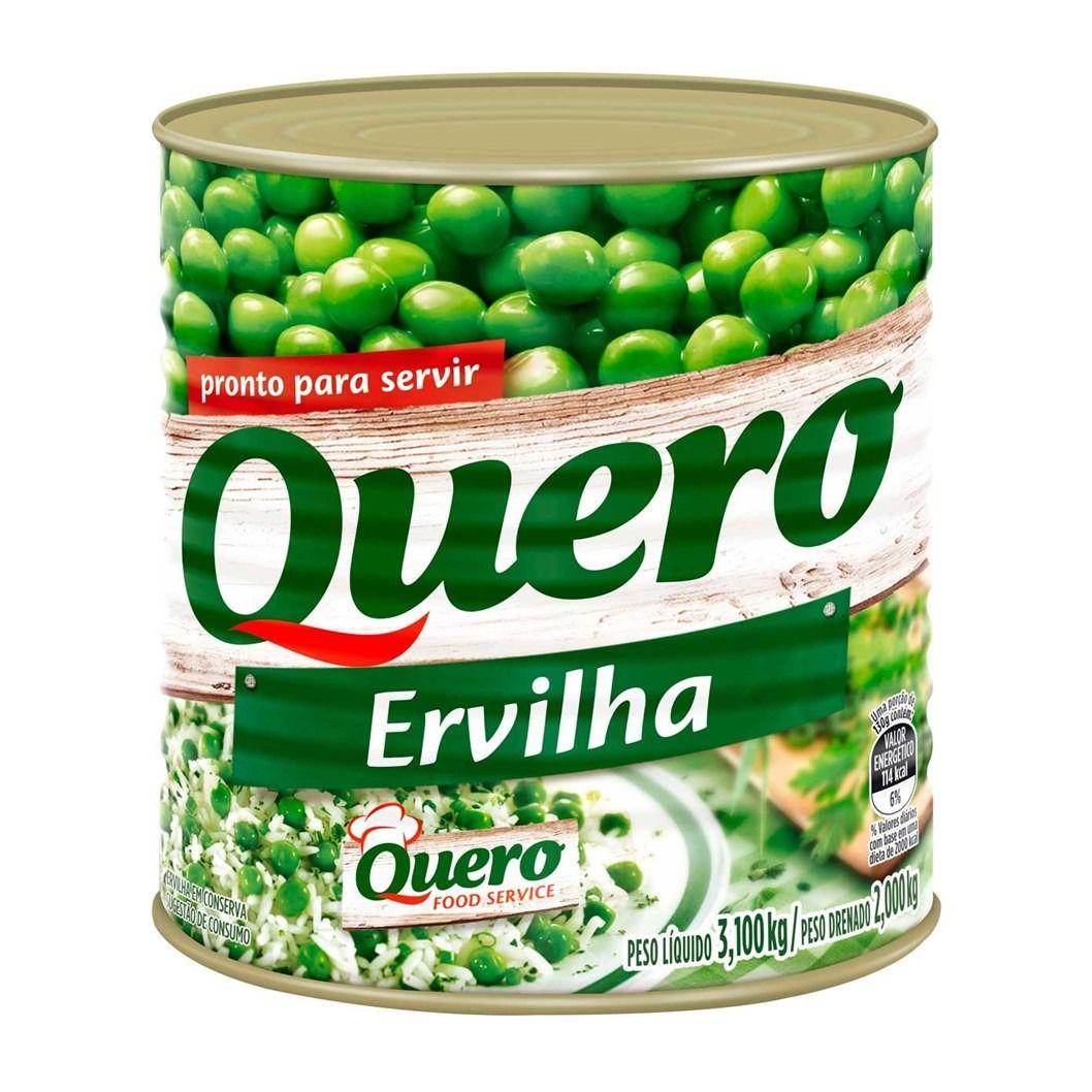 ERVILHA QUERO LATA 2KG