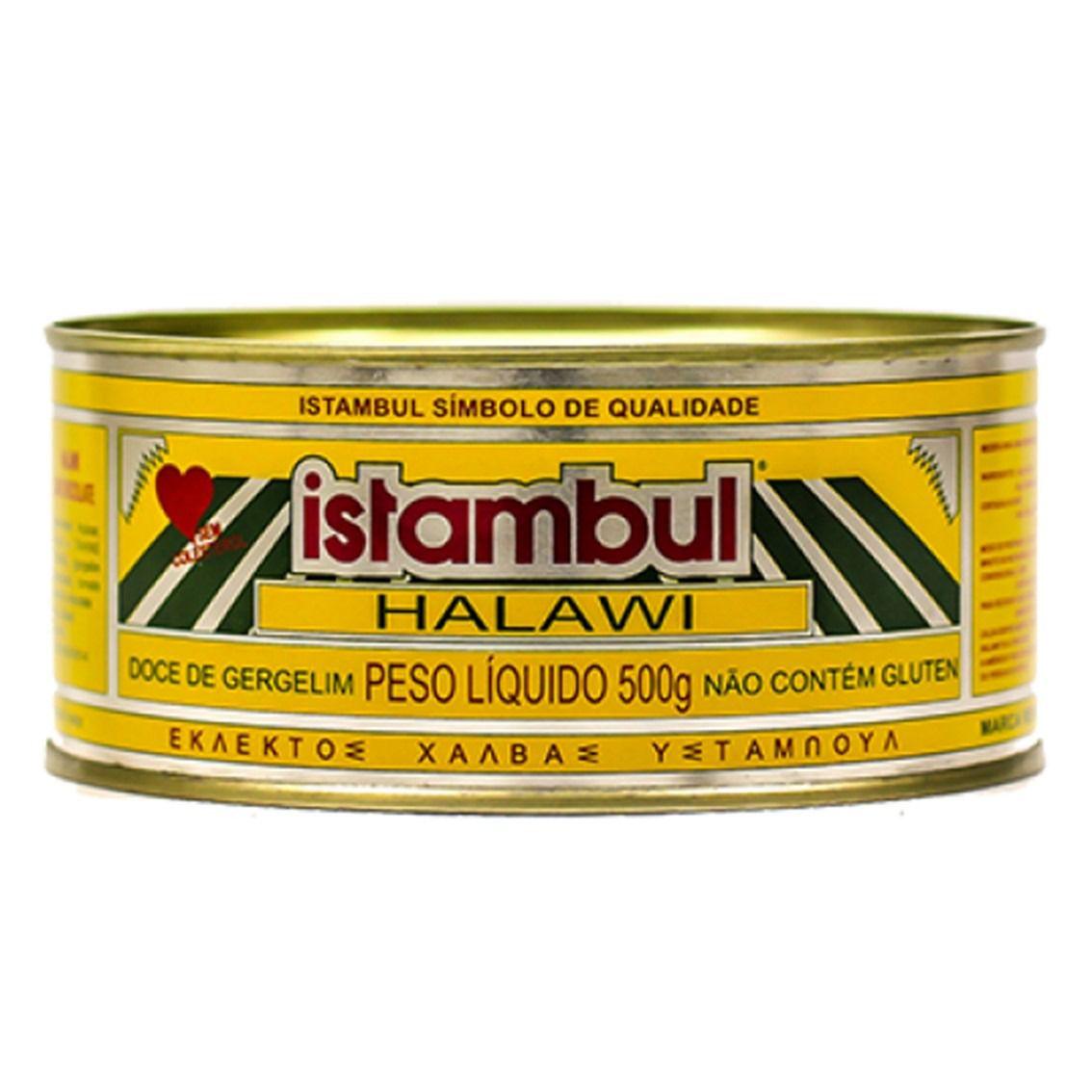HALAWI ISTAMBUL DOCE DE GERGELIM  500G