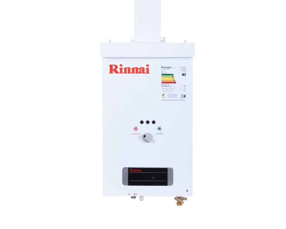 Aquecedor a Gás REU-73 BR - Rinnai - 7 litros