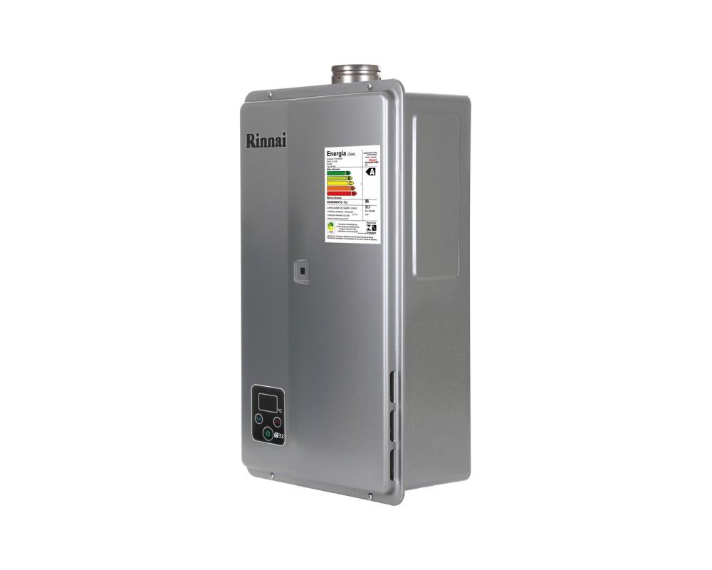 Aquecedor a Gás REU-E331FEH - Rinnai - 33 litros