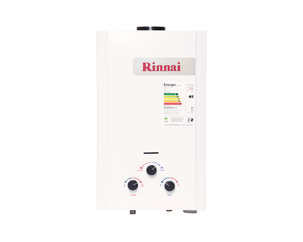 Aquecedor a Gás REU-M090 CFHB - Rinnai - 9 litros