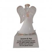 Anjo de Cristal Luminoso 11cm
