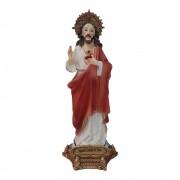 Imagem Sagrada Coração de Jesus 13cm