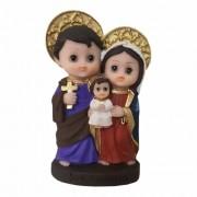 Imagem Sagrada Familia Infantil 10cm