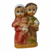 Imagem Sagrada Familia Infantil 7,5cm