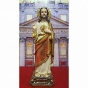 Imagem Sagrado Coração de Jesus 40cm - modelo 2