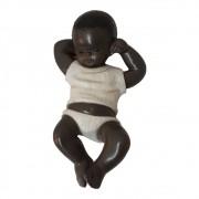 Menino Jesus Deus de Todos os Povos Africanos 20cm