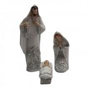 Presépio Sagrada Familia 21cm com 3 peças