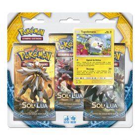 Pokémon TCG: Triple Pack SM1 Sol e Lua - Togedemaru