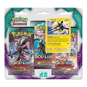 Pokémon TCG: Triple Pack SM2 Guardiões Ascendentes - Vikavolt