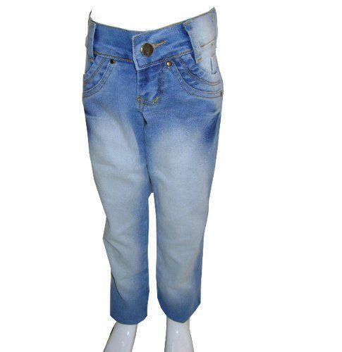 b5da8847fe Kit 3 Calças Jeans Infantil Meninas Feminino Tamanhos 4 6 8 - GRUPO ...