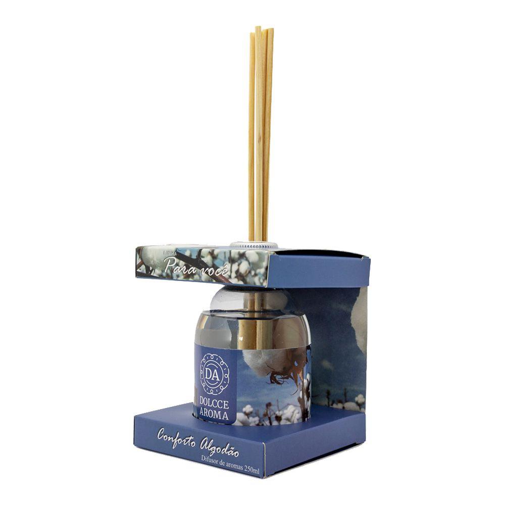 Difusor de Aroma Conforto do Algodão 250ml - Dolcce Aroma