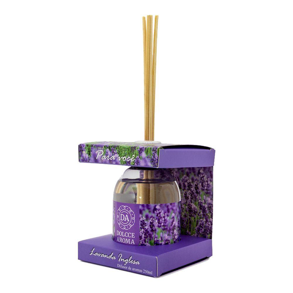 Difusor de Aroma Lavanda Inglesa 250ml - Dolcce Aroma
