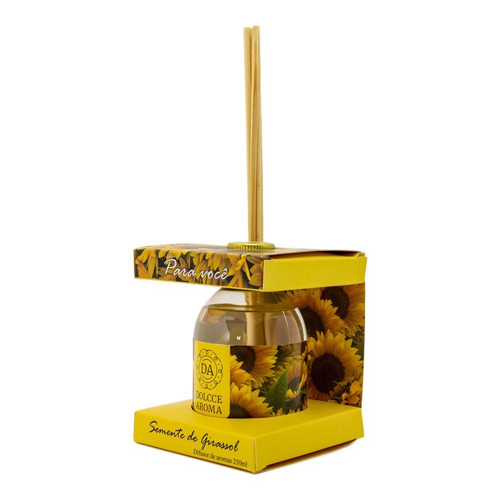 Difusor de Aroma Semente de Girassol 250ml - Dolcce Aroma