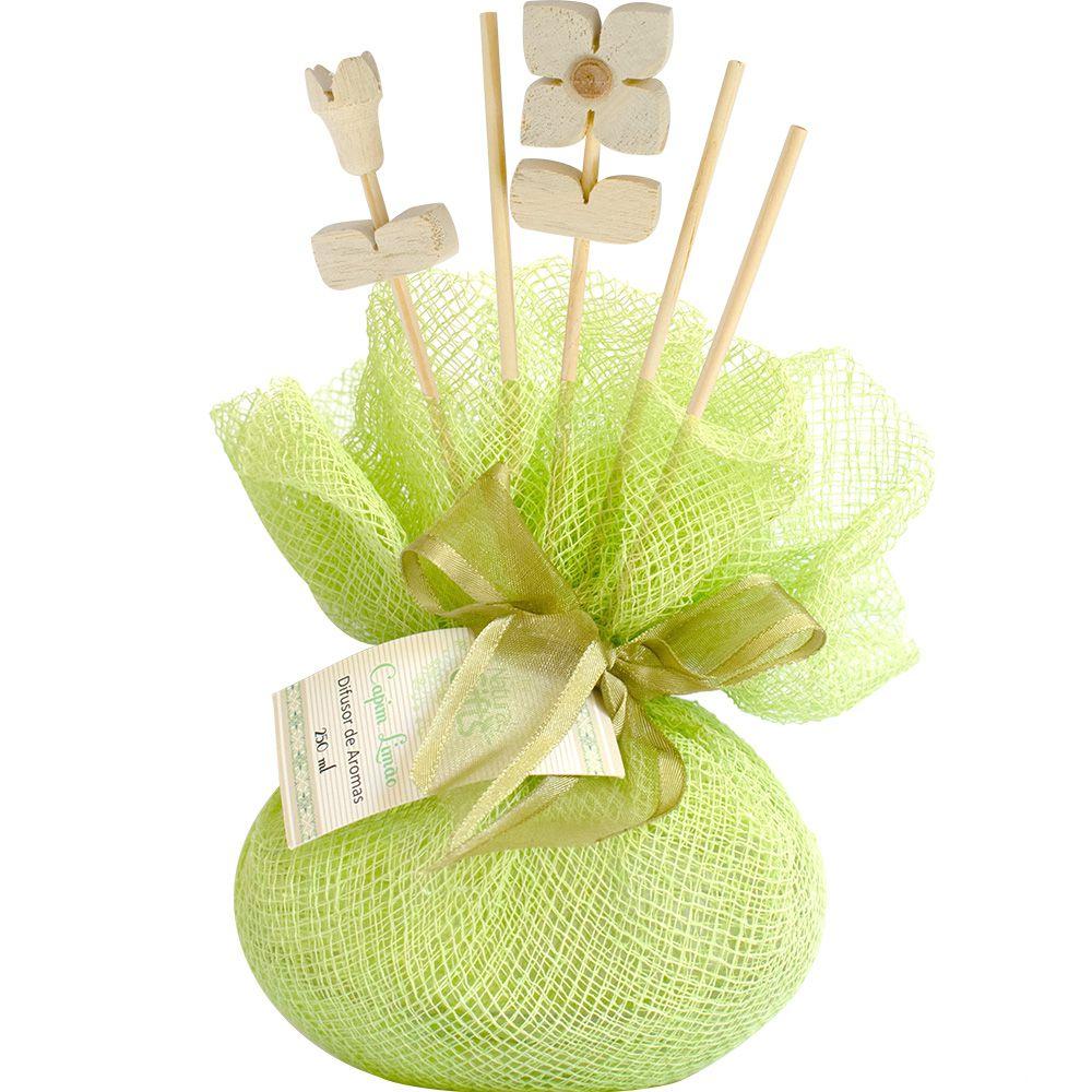 Difusor de Varetas 250ml Capim Limão - Natural Gifts