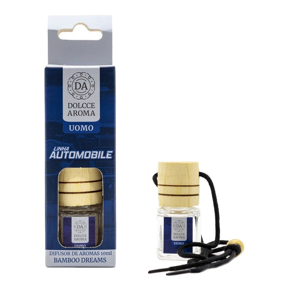 Difusor para Carro Automobile Uomo 10ml Bambu - Dolcce Aroma