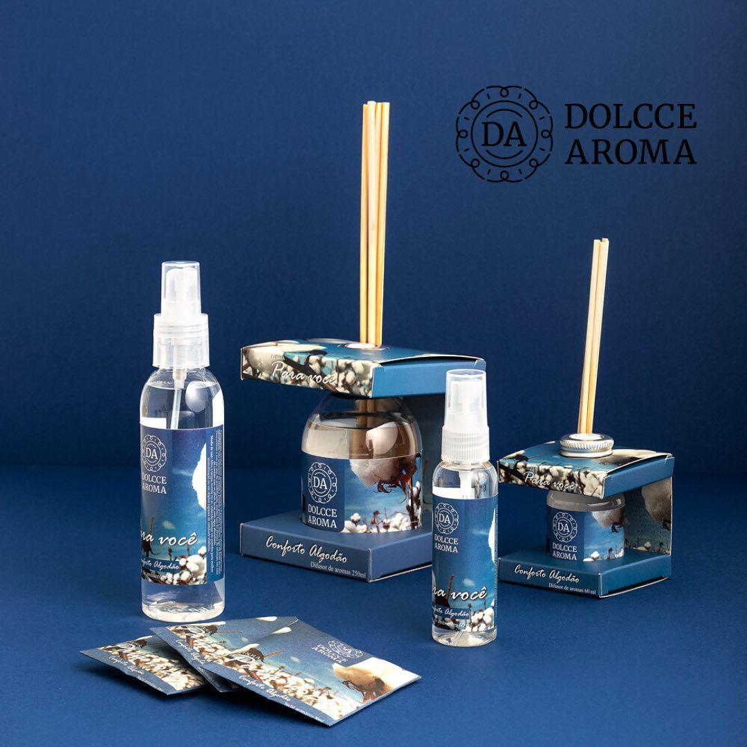 Home Spray Conforto do Algodão 150ml - Dolcce Aroma
