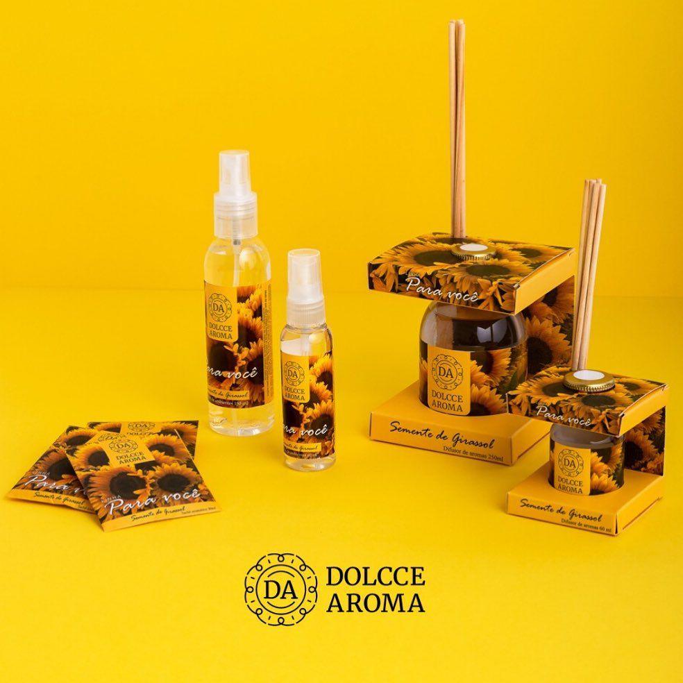 Home Spray Girassol 150ml - Dolcce Aroma