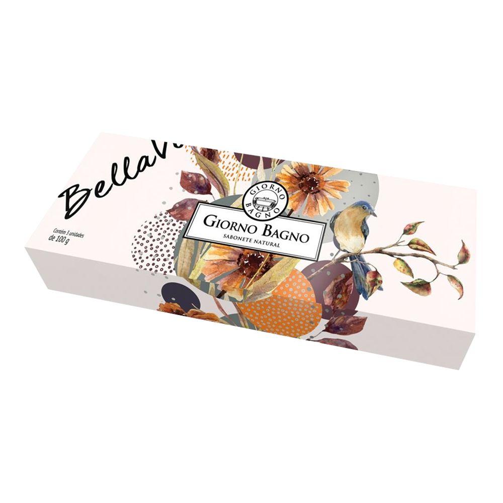 Kit de Sabonete 3x100g Bella Vita - Giorno