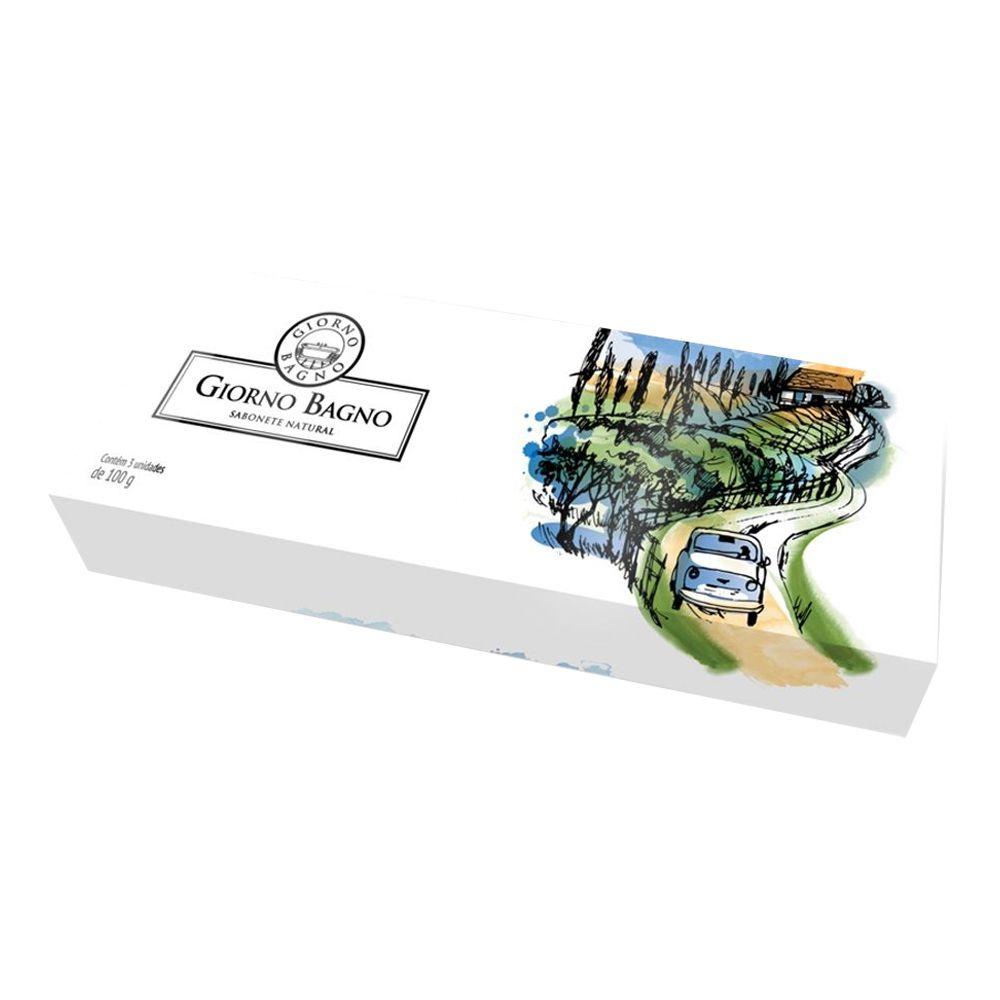 Kit de Sabonete 3x100g Toscana - Giorno