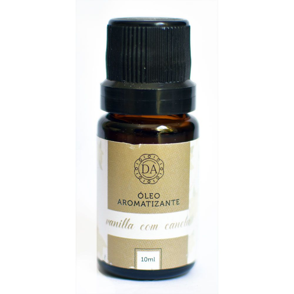 Óleo Essencial 10ml Vanilla com Canela - Dolcce Aroma