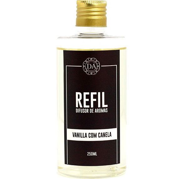 Refil Difusor de Aromas 250ml Vanilla com Canela - Dolcce Aroma