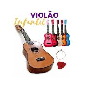 Instrumento Musical Mini Violão Infantil Semi profissional Dynasty