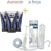 Kit 3 Volumão Intensificador + Bomba Peniana Manual