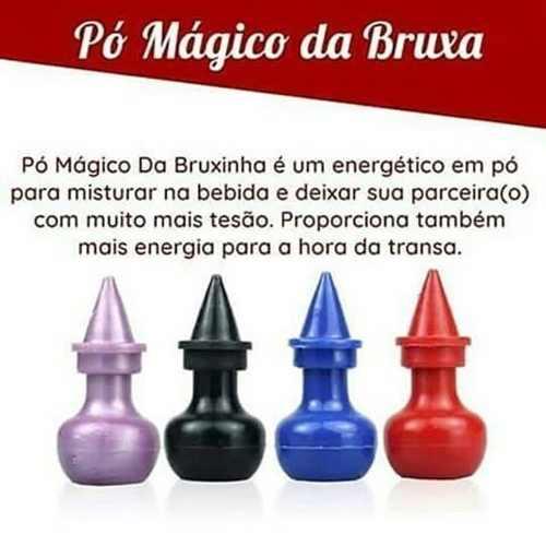 Pack 10 Unidades Pó Mágico Bruxinha Energético 2g Loka Sensação