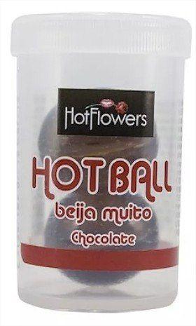 Kit 10 Bolinhas Lubrificadas e Beijáveis  Hot Ball Hot Flowers