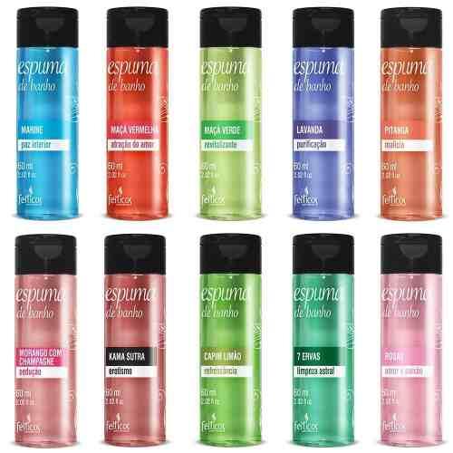 Espuma De Banho Aromas 1 unid 60ml Feitiços Aromáticos