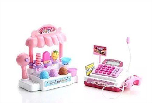 Caixa Registradora Sorveteria Infantil Brinquedo Fenix