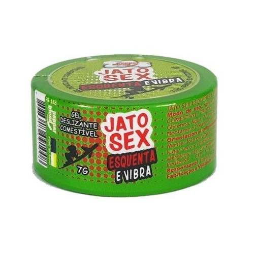 Jato Sex Gel Esquenta E Vibra 7g Excitante Pepper Blend
